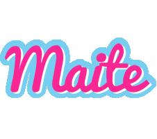 Maite popstar logo