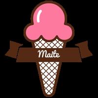 Maite premium logo