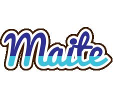 Maite raining logo