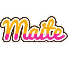 Maite smoothie logo