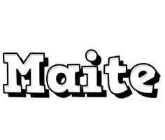 Maite snowing logo