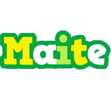Maite soccer logo