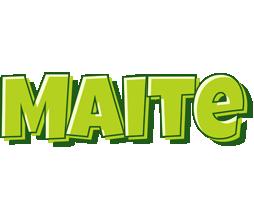 Maite summer logo