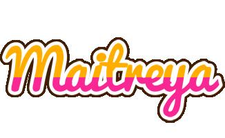 Maitreya smoothie logo
