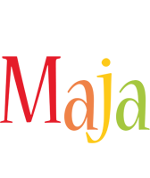 Maja birthday logo