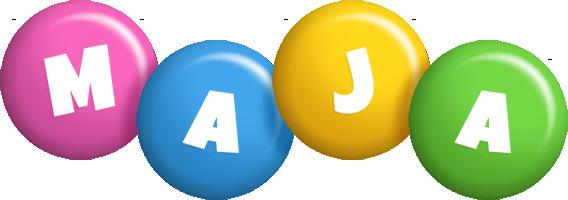 Maja candy logo