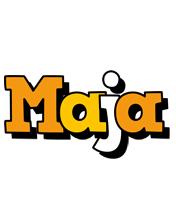 Maja cartoon logo