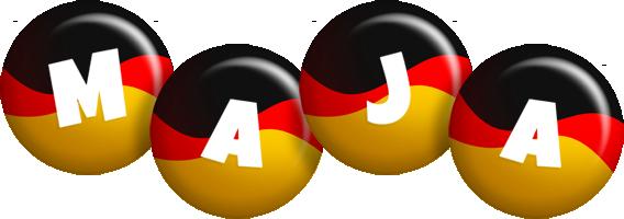 Maja german logo