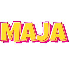 Maja kaboom logo