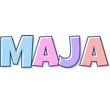 Maja pastel logo