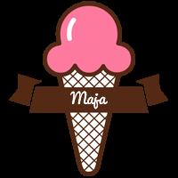 Maja premium logo