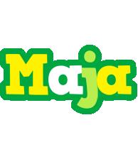 Maja soccer logo