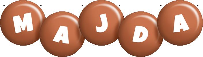 Majda candy-brown logo