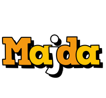 Majda cartoon logo