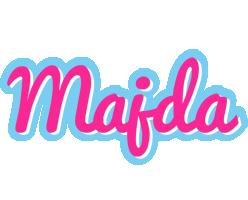 Majda popstar logo