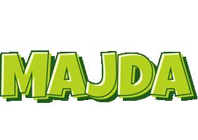 Majda summer logo