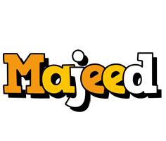 Majeed cartoon logo