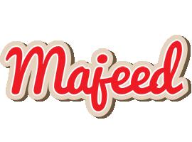 Majeed chocolate logo