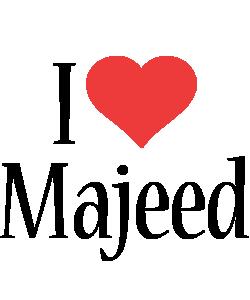 Majeed i-love logo
