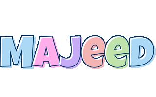 Majeed pastel logo