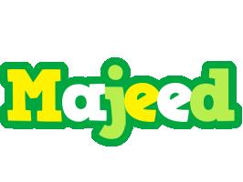 Majeed soccer logo