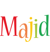 Majid birthday logo