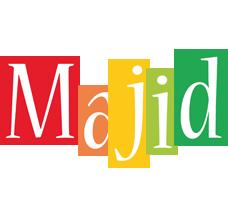 Majid colors logo