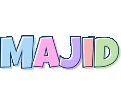 Majid pastel logo