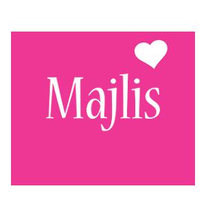 Majlis love-heart logo