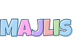 Majlis Logo | Name Logo Generator - Candy, Pastel, Lager, Bowling