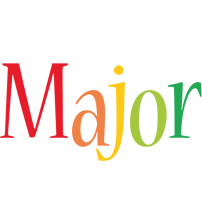 Major birthday logo