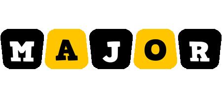 Major boots logo