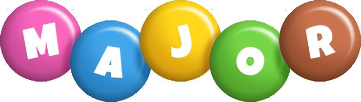 Major candy logo