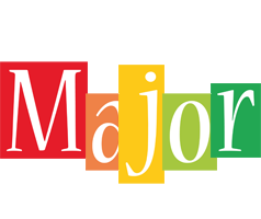 Major colors logo