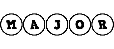 Major handy logo