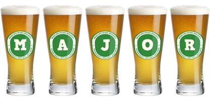 Major lager logo