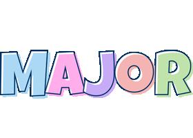 Major pastel logo