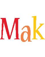 Mak birthday logo