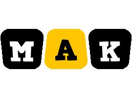 Mak boots logo