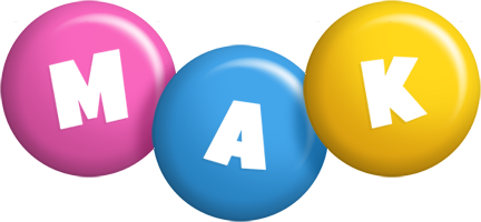 Mak candy logo