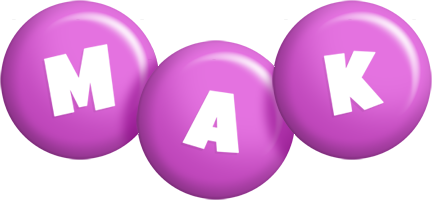 Mak candy-purple logo
