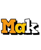 Mak cartoon logo