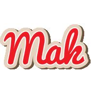 Mak chocolate logo