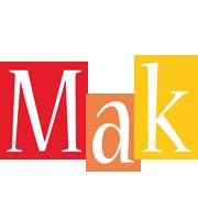 Mak colors logo
