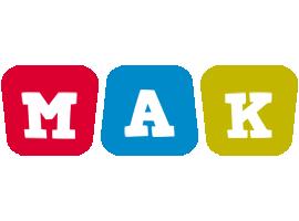 Mak daycare logo