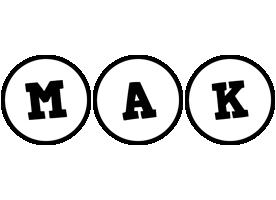 Mak handy logo