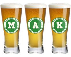 Mak lager logo
