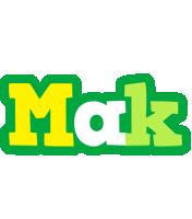 Mak soccer logo