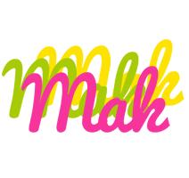 Mak sweets logo