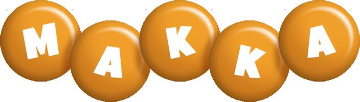 Makka candy-orange logo